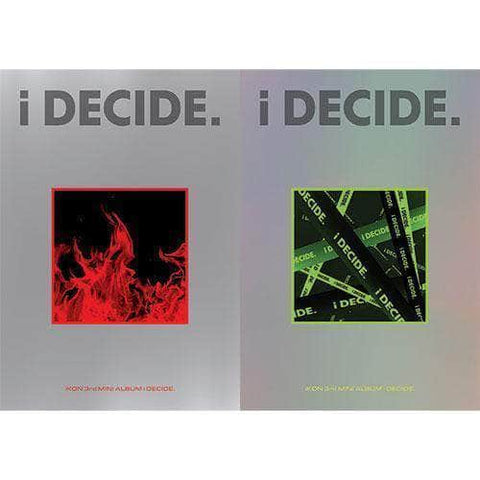 Apple Music IKON - 3RD MINI ALBUM [I DECIDE]