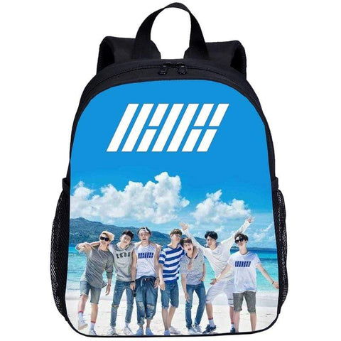 Kpop Merchandise Online Accessories iKon Image Backpack