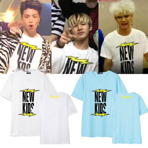 IDOLS FASHION T-SHIRT IKON NEW KIDS T-SHIRT