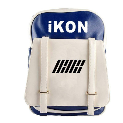 Kpop Merchandise Online Accessories iKON School Backpack