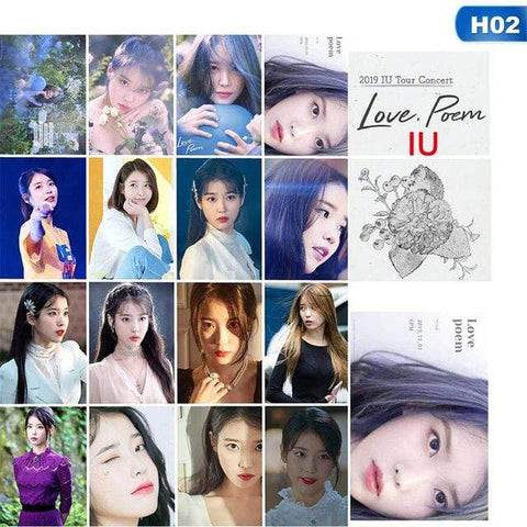 Kpop Merchandise Online Photocards IU Photocards