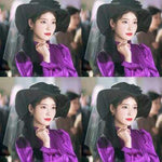 Kpop Merchandise Online Clothing IU Purple Dress from DEL LUNA