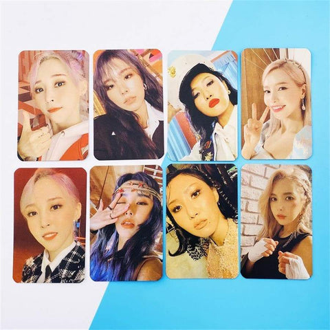 Kpop Merchandise Online Photocards Kpop Mamamoo 2nd Album Photocard with autograph