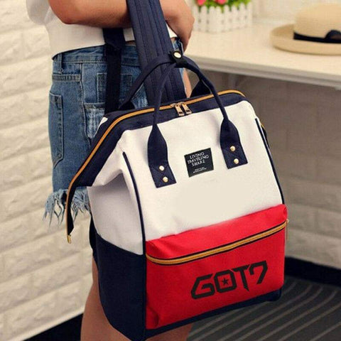 Kpop Merchandise Online Accessories Kpop School Bag