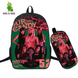Kpop Merchandise Online Accessories Lady Gaga and Blackpink's Sour Candy Backpack Cartable