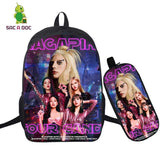 Lady Gaga and Blackpink's Sour Candy Backpack Cartable - Kpop Merchandise Online