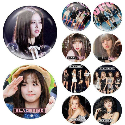 Kpop Merchandise Online Badges Member Brooches