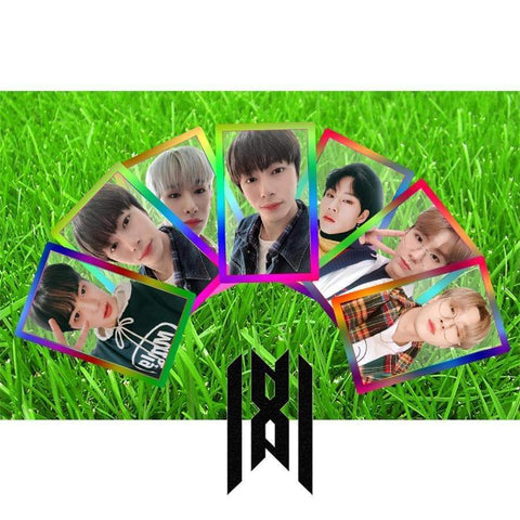 Kpop Merchandise Online Photocards Monsta X Transparent Photocard