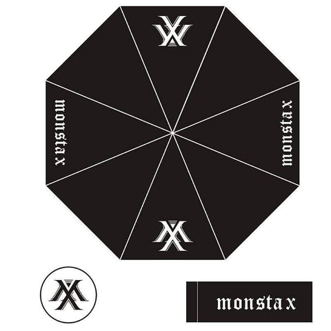 Kpop Merchandise Online Accessories Monsta X Umbrella