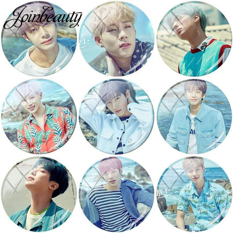 Kpop Merchandise Online MonstaX Badge