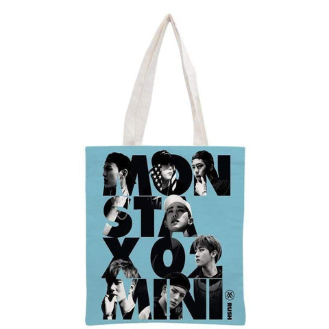 Kpop Merchandise Online Accessories MonstaX Tote Bag