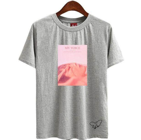 Official Kpop Merchandise Online 🥇 Clothing My Voice Taeyeon T-shirt