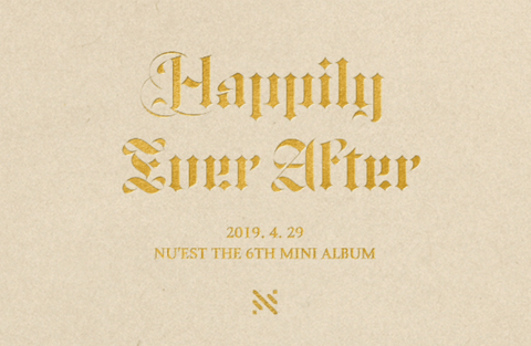 Apple Music Official Kpop Albums NU`EST - 6TH MINI ALBUM [HAPPILY EVER AFTER]