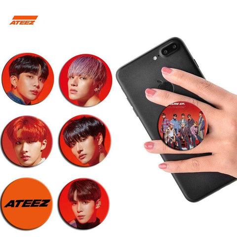 K-pop Fashion OFFICIAL ATEEZ ANSWER Mobile Phone Bracket