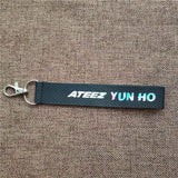 K-pop Fashion OFFICIAL ATEEZ Laser Mobile Phone Strap
