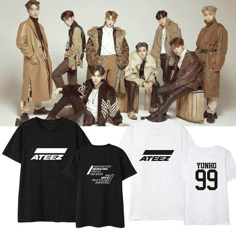 K-pop Fashion OFFICIAL ATEEZ T shirt