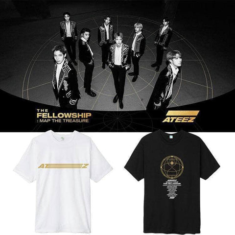 PartyPartyGo OFFICIAL ATEEZ The Fellowship T-shirt