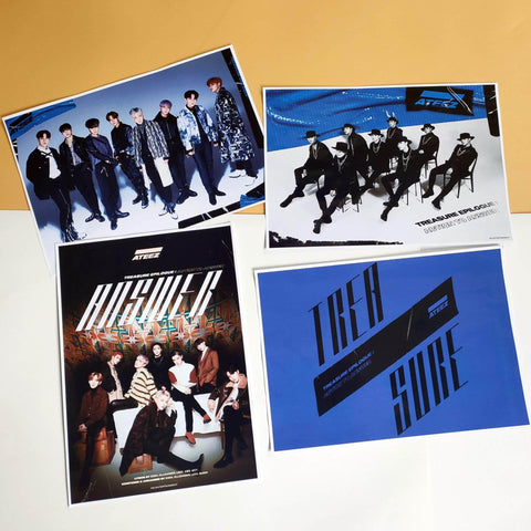 K-pop Fashion OFFICIAL ATEEZ TREASURE EP.FIN: All To Action Poster