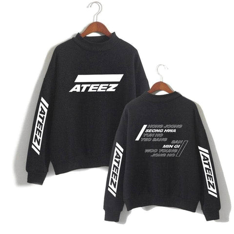 PartyPartyGo OFFICIAL  ATEEZ TREASURE Printed Sweatshirt