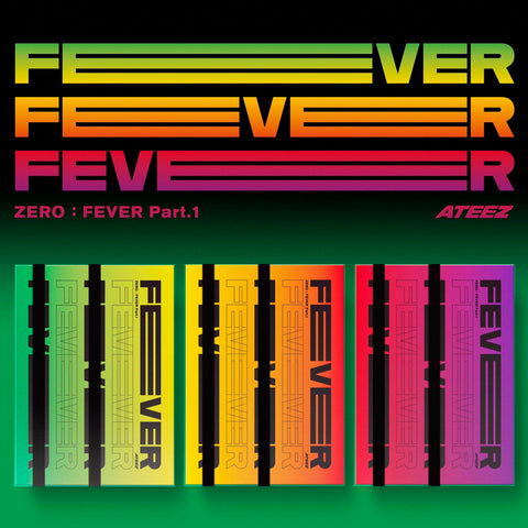Apple Music Official Kpop Albums OFFICIAL  ATEEZ ZERO : FEVER Part.1