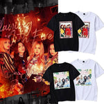 PartyPartyGo OFFICIAL Blackpink Photo Printed Cotton T-shirt
