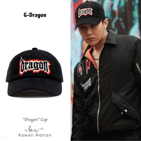 "KAWAII NATION BIGBANGIDOL OFFICIAL ""DRAGON"" CAP"
