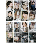 K-pop Fashion OFFICIAL GOT7 16 Sheets DYE Lomo Card