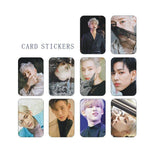 K-pop Fashion OFFICIAL GOT7 BamBam 10 Sheets Crystal Card Sticker