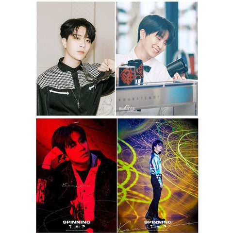 K-pop Fashion OFFICIAL GOT7 YoungJae Peripheral Poster×Card Sticker×Postcard