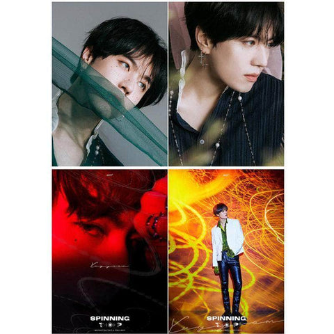 K-pop Fashion OFFICIAL GOT7 YuGyeom Peripheral Poster×Card Sticker×Postcard