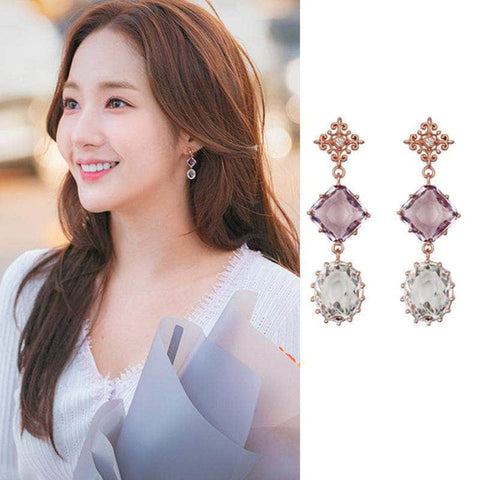 K-Dramatique OFFICIAL Her Private Life: Sung Duk Mi's Earrings (10 Different Styles)
