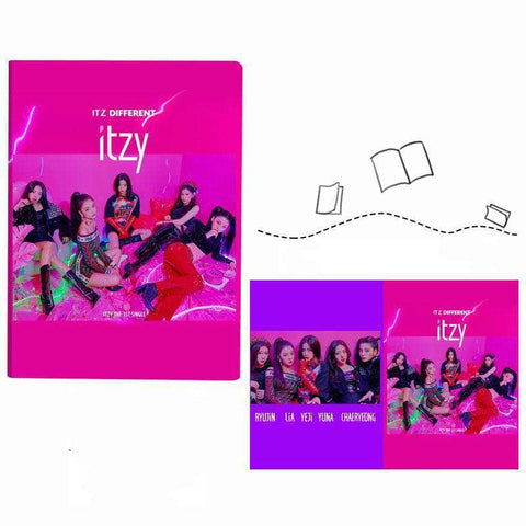 K-pop Fashion OFFICIAL ITZY IT'z ME Notebook