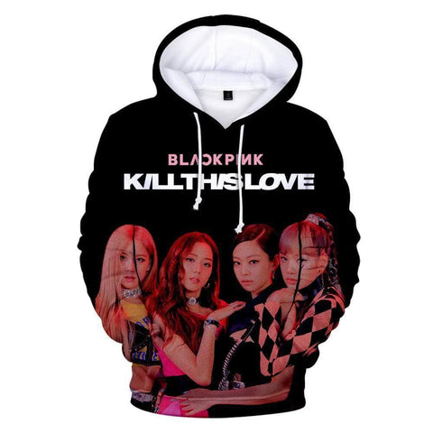 Blackpink Store OFFICIAL  Kill This Love 3D Hoodie