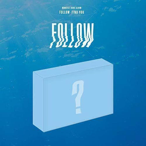 Apple Music Official Kpop Albums OFFICIAL  MONSTA X - MINI ALBUM [FOLLOW - FIND YOU] KIT ALBUM (EXPRESS SHIPPING ONLY)