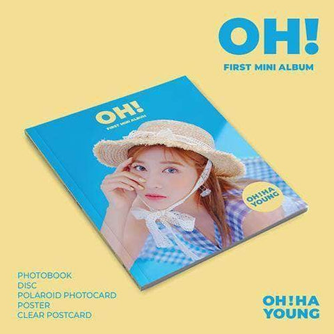 Apple Music Official Kpop Albums OFFICIAL  OH HA YOUNG (APINK) - 1ST MINI ALBUM [OH!]