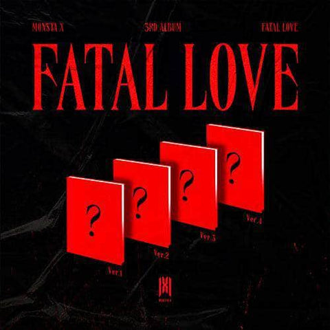 Apple Music Official Kpop Albums OFFICIAL  [PRE-ORDER] MONSTA X - 3RD FULL ALBUM [FATAL LOVE]