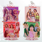 K-pop Fashion OFFICIAL  Red Velvet Acrylic Small Stand Pendant