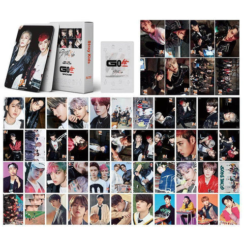 K-pop Fashion OFFICIAL Stray Kids 54 Sheets Lomo Card