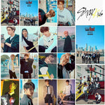 K-pop Fashion OFFICIAL Stray Kids Double Knot LOMO Card