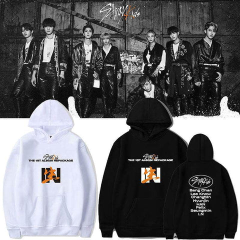 K-pop Fashion OFFICIAL Stray Kids IN生 Hoodie