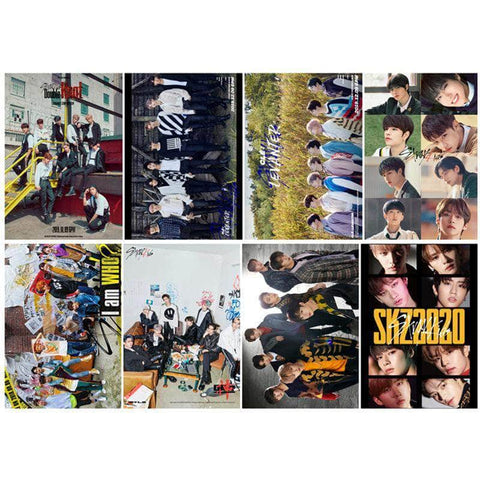 K-pop Fashion OFFICIAL Stray Kids Poster & Card sticker