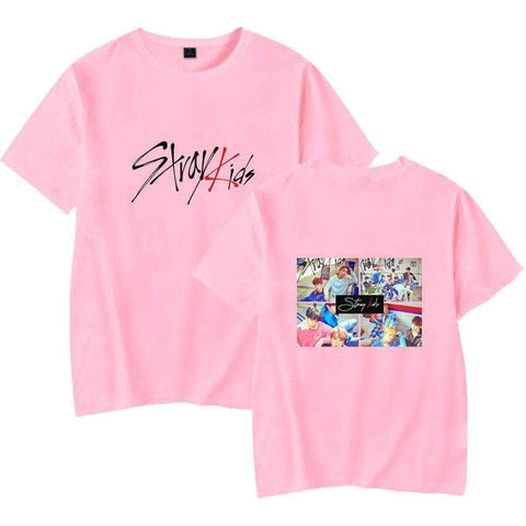 K-pop Fashion OFFICIAL Stray Kids T Shirt