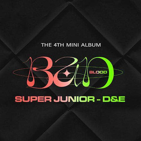 Apple Music Official Kpop Albums OFFICIAL  SUPER JUNIOR D&E - 4TH MINI ALBUM [BAD BLOOD]