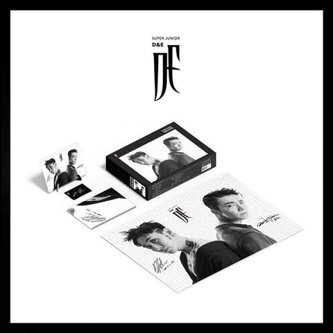Apple Music Official Kpop Albums OFFICIAL  SUPER JUNIOR - PUZZLE PACKAGE D&E VER. [LIMITED]