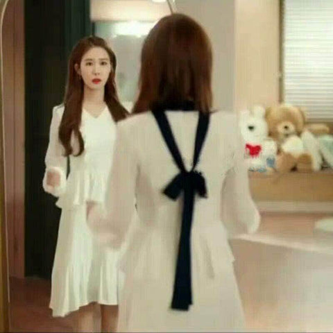 K-Dramatique Dress OFFICIAL Touch Your Heart: Oh Jin Shim's White Dress
