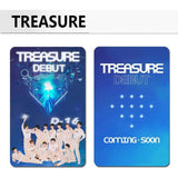 K-pop Fashion OFFICIAL TREASURE 100 Sheets Lomo Card