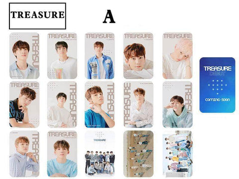 K-pop Fashion OFFICIAL TREASURE 15 Sheets Lomo Card