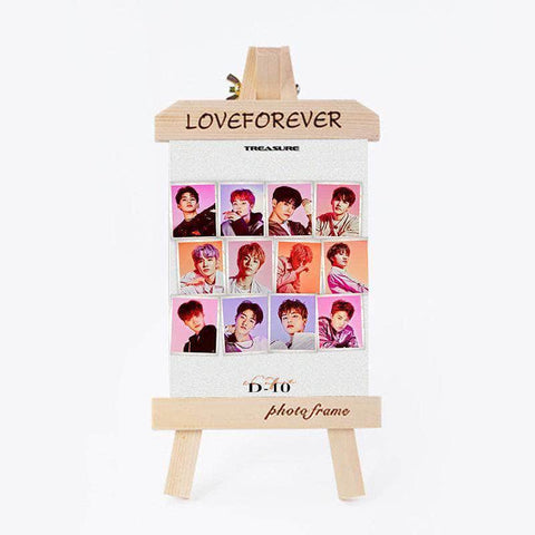 K-pop Fashion OFFICIAL TREASURE 6 inch Wooden Photo Frame