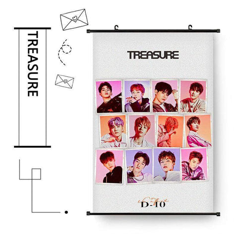 K-pop Fashion OFFICIAL TREASURE Album Hanging Picture