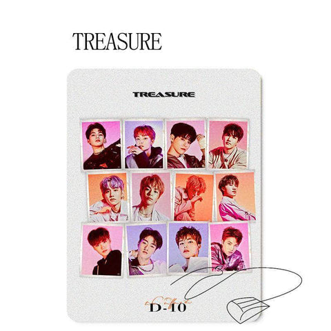 K-pop Fashion OFFICIAL TREASURE Album Mouse Pad
